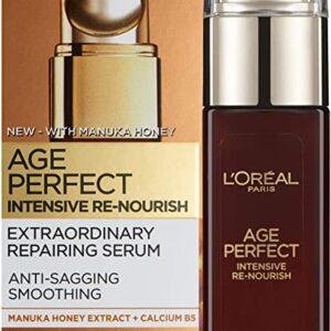 L'Oreal Paris Age Perfect Intensive Renourish Manuka Honey Serum for Dry Skin