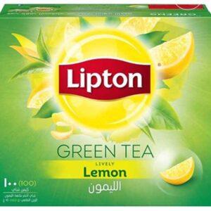 Lipton Green Tea – Lemon (100 Tea Bags)