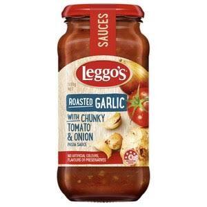 Leggos Pasta Sauce Rosted Garlic Onion 500gm (Italy)