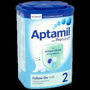Aptamil 2 with Pronutra+ Follow On Milk (6-12 Months) 900g