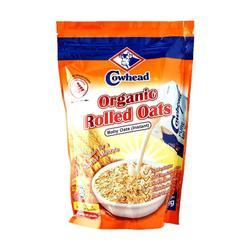 Cowhead Organic Rolled oats 500gm