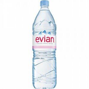 Evian Natural Spring Water 1.5lt