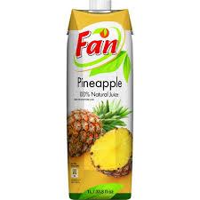 Fan Pineapple Juice 1Lt