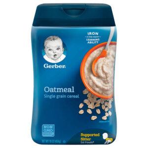 Garba Oatmeal Single Grain Cereal 227gm