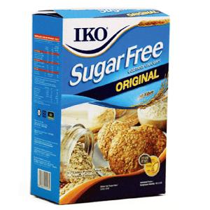 IKO Original Sugar Free Oatmeal Crackers (malaysia) 178g