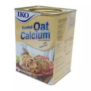 IKO assorted oat calcium oatmeal cracker tin 700g (malaysia)