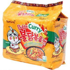 Ramen Samyang Hot Chicken Noodles Buldak Curry (korea) 5 Pack