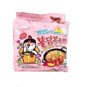 Ramen Samyang Hot Chicken Noodles Carbo (korea) 5 pack