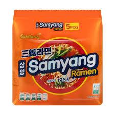 Ramen Samyang Orange Flavour noodles 5pack (korea)
