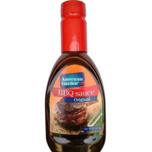 American Garden Bbq sauce Original 510gm