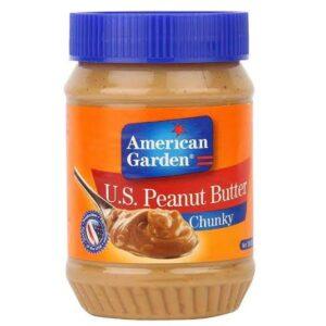 American Green Peanut Butter Chunky 510gm (U.S.A)