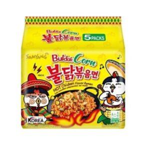 Ramen Samyang Buldak Coru noodles 5pack (korea)