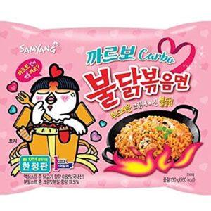Ramen Samyang Carbo noodles single pack 140gm (korea)