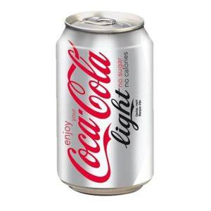 Coca Cola can Light 330ml