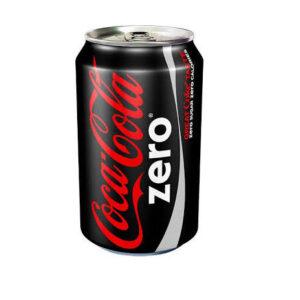 Coca Cola Zero Can 330ml