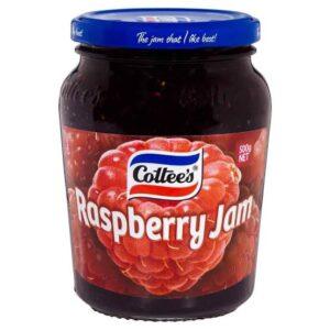 Cottees Raspberry jam 500gm