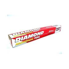Diamond aluminium foil 37.5 sqft