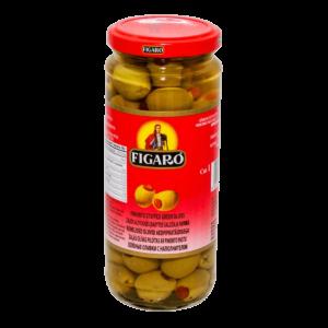 Figaro Green Olive Stuffed 340gm