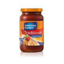 American Garden Traditional Pasta Sauce 397gm