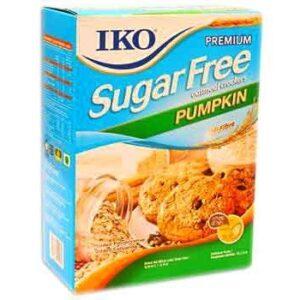 Iko Sugar Freeoatmeal Crackers premium pumpkin 220gm