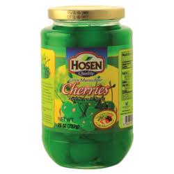 Hosen Green Cherries 737gm