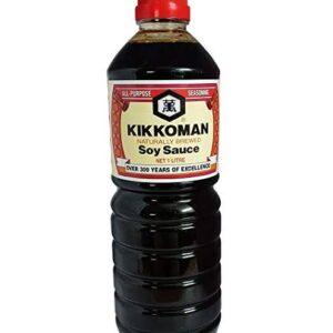 kikkoman soy sauce original 1 ltr