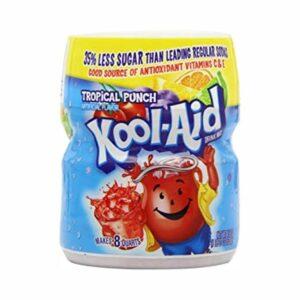Kool Aid Tropical Punch Juice Powder 538 (USA)