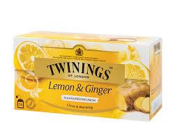 Twinings Lemon & Ginger Tea 25bags