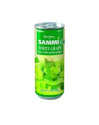 SAMMI WHITE GRAPE JUICE CAN-240ML