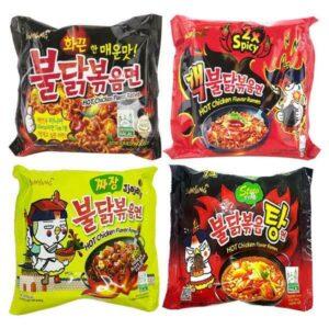 Ramen Samyang noodles single pack 140gm 4pcs (korea)