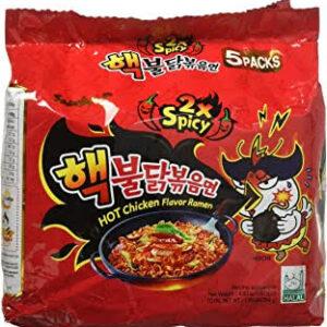 Ramen Samyang Hot Chicken hot spicy (KORIA) 5 Pack