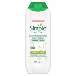 Simple Daily Moisturising Body Lotion 250Ml